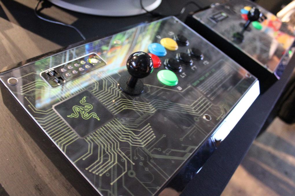 Razer Arcade Stick Hands On A Better Joystick Even In Beta Polygon