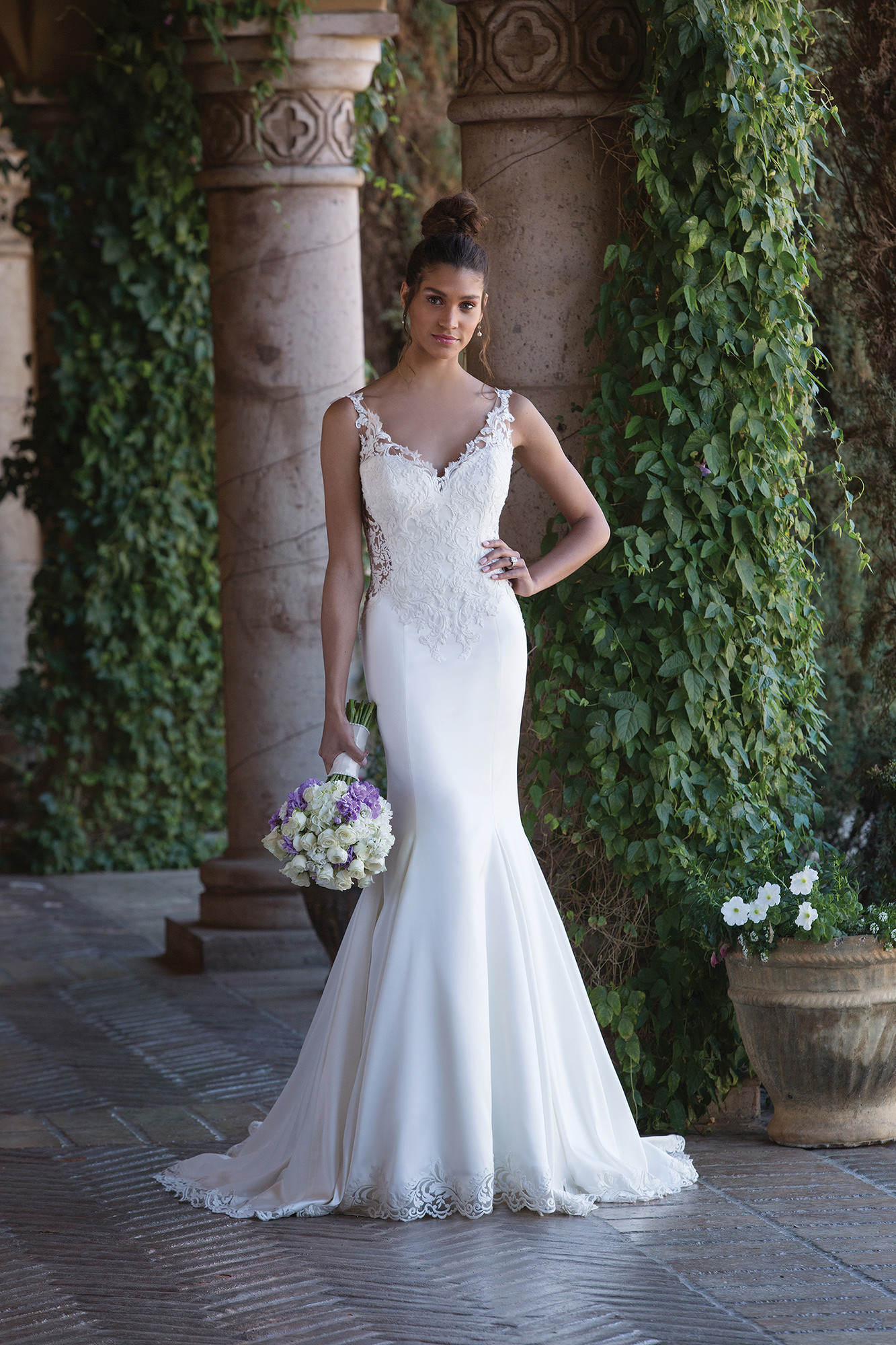 Wedding Dresses By Sincerity Bridal 4015 Weddingwireca