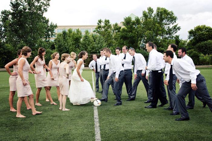 Soccer Themed Weddings