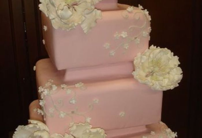 Simple Elegance In Cake Design Wedding Cake Las Vegas Nv