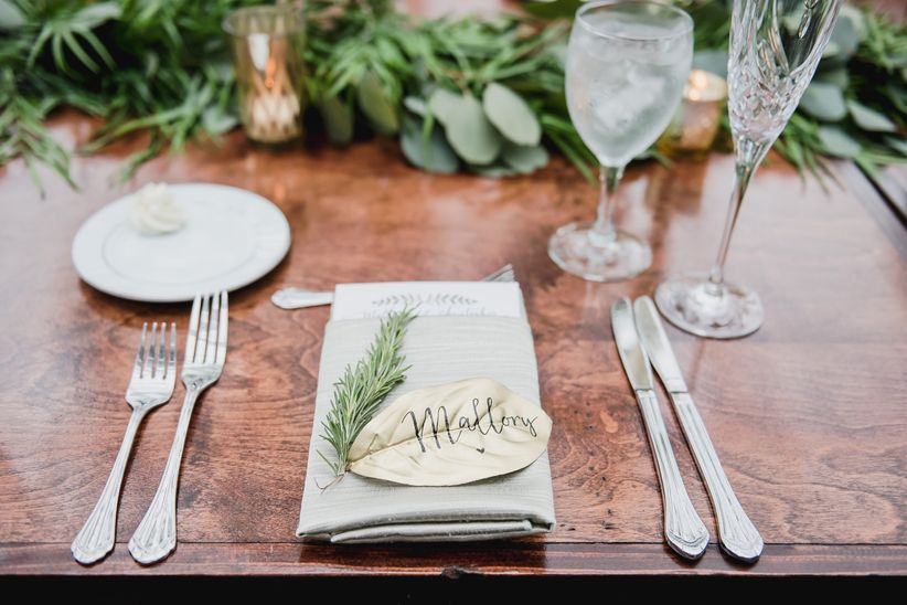 13 Creative Wedding Place Card Ideas