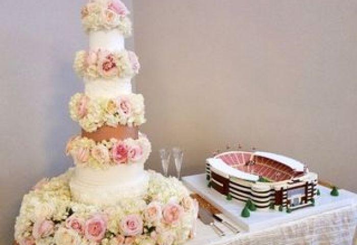 Fancy Cakes By Lauren Wedding Cake Dallas Tx Weddingwire