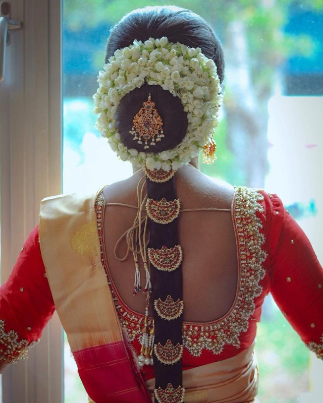 5 stunning south indian bridal hairstyles (and how to choose