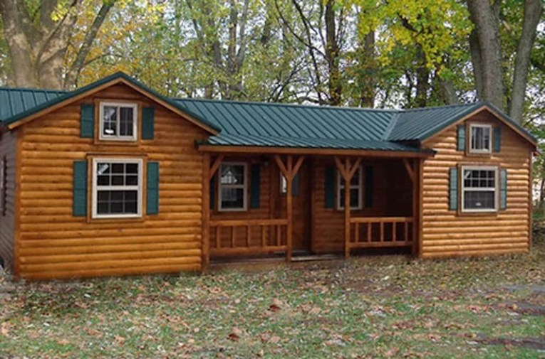 Amish Cabins  This Log Cabin Kit Can Be Yours For  16 350