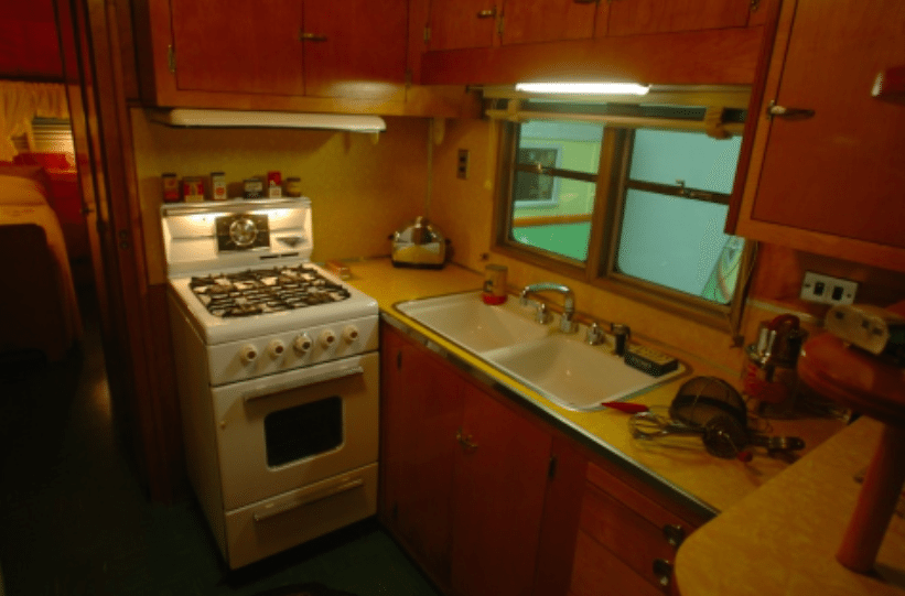 Rare 50s Camper Has An Untouched Interior That Will Take You Back In Time