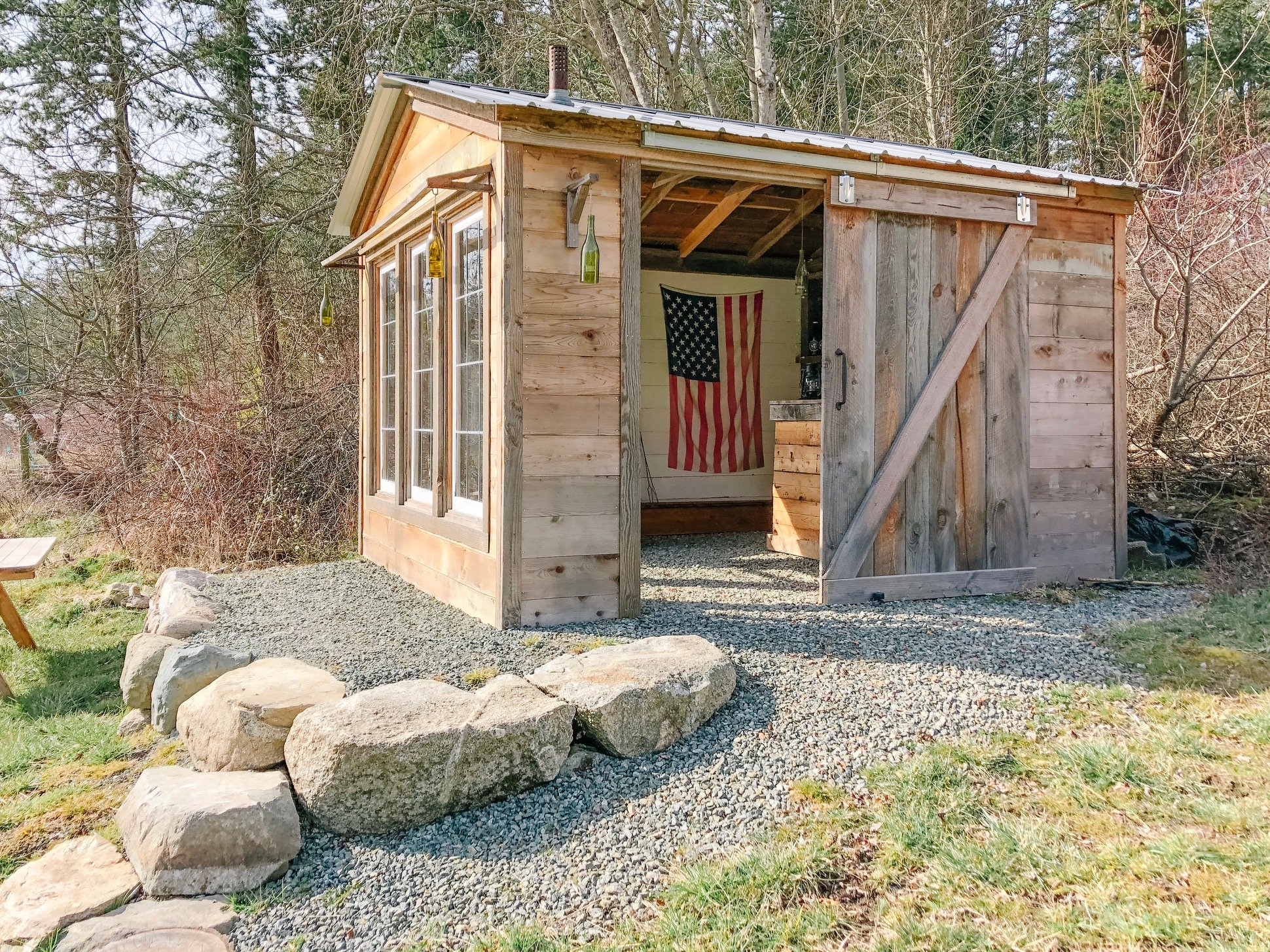 Forget Man Caves, Backyard Bar Sheds Are the New Trend. on Open Backyard Ideas id=96538