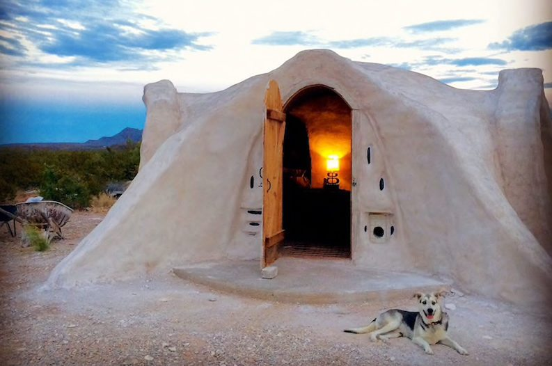 Stay The Night Inside An Adobe Dome In The Texas Desert