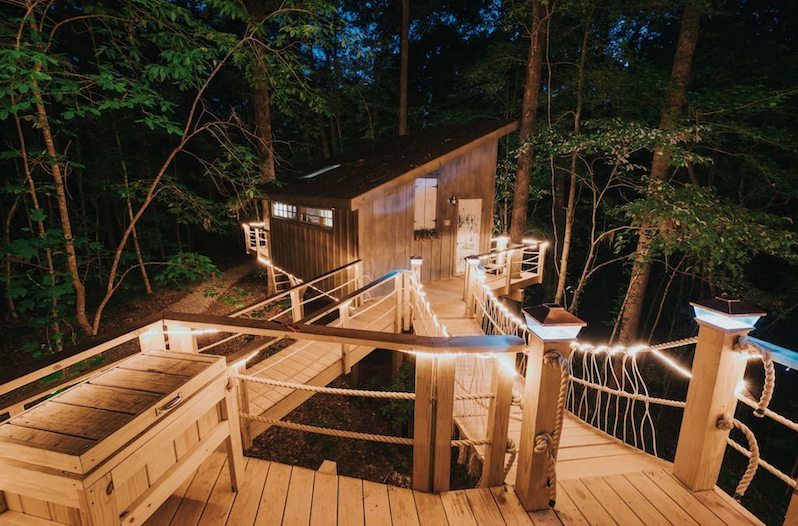 Spend The Night In This Romantic South Carolina Treehouse