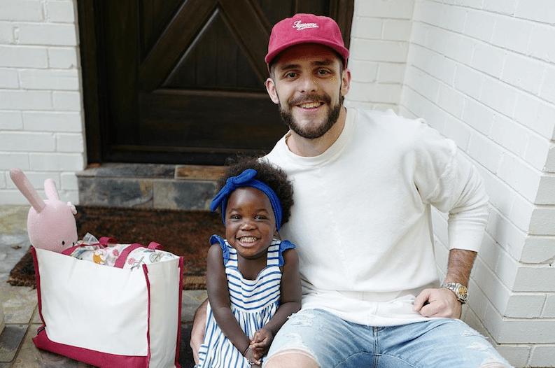 Thomas Rhett And Lauren Akins Show Off Their Adorable Baby
