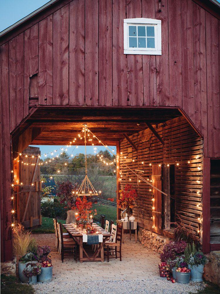 15 Gorgeous Backyard Dining Tables Made for Summer ... on Farmhouse Yard Ideas id=27858