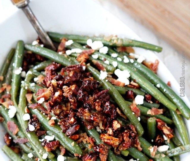 Dijon Maple Green Beans Easy Thanksgiving Sides