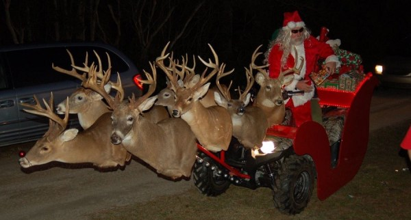 A Hunting-Themed Christmas for the Naughty List