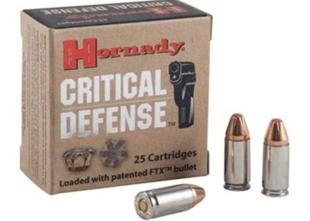 Best 9mm Self Defense Ammo Hornady