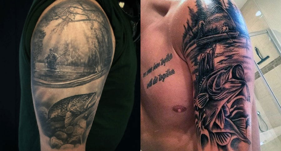 10 Fishing Tattoos That Actually Look Good