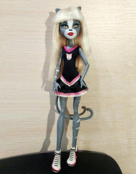 Кукла монстр хай кошка Мяулодия – купить в Москве, цена 1 ...