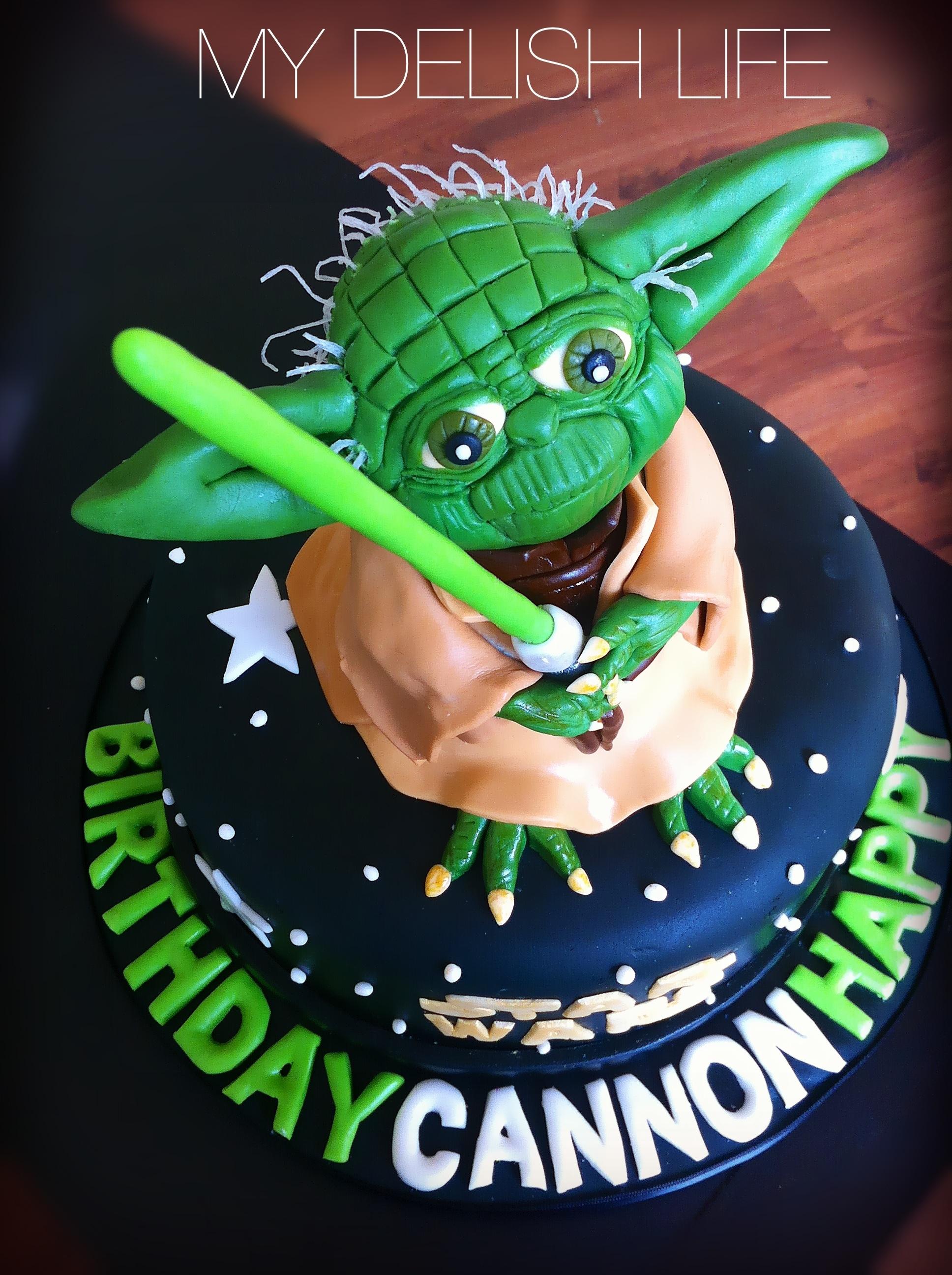 Yoda Yoda Cake Star Wars Cake All Edible Cakecentral Com