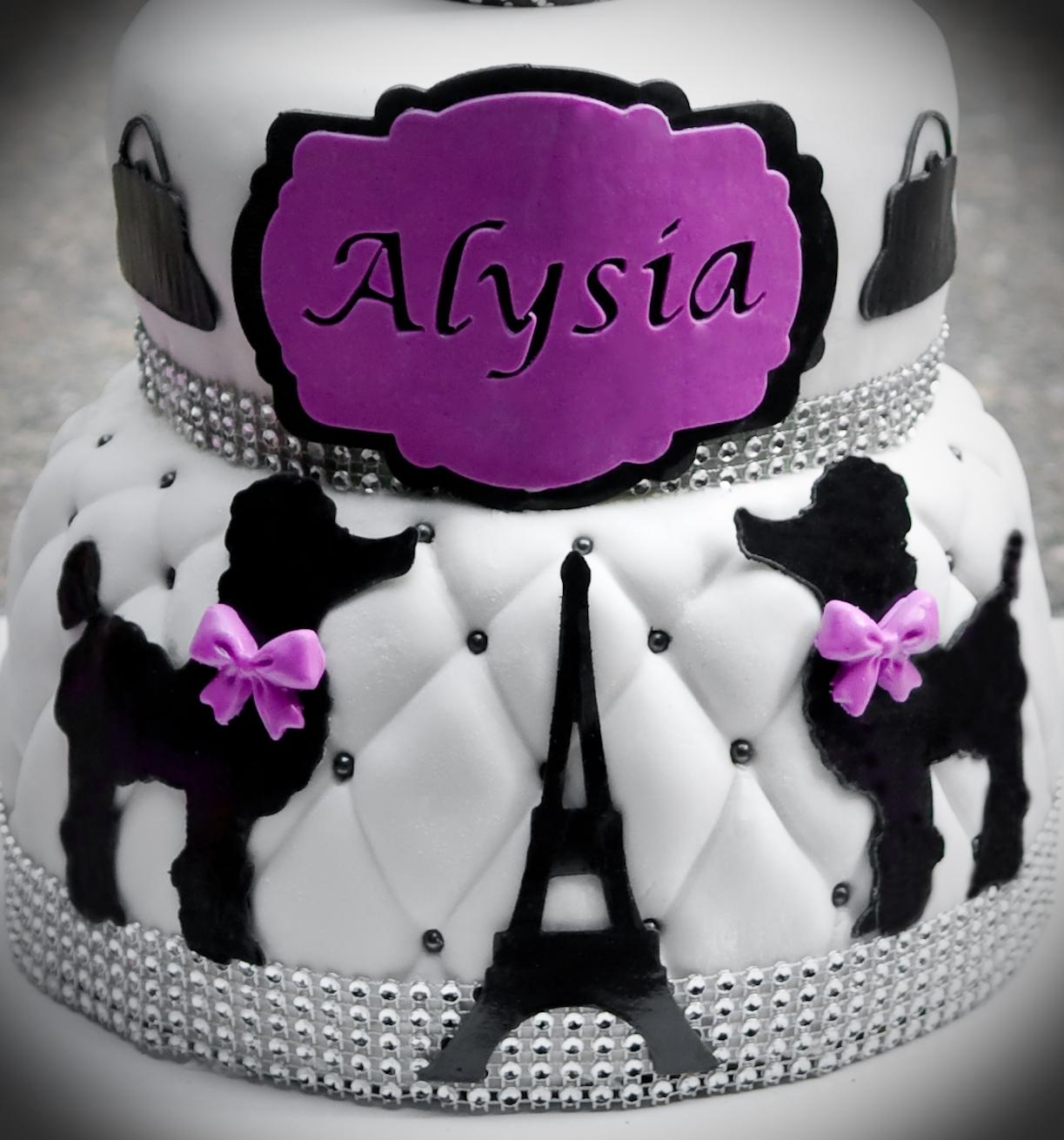 Paris Theme Birthday Cake Cakecentral Com
