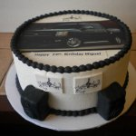 Black Chevy Silverado Truck Cake With Speakers Cakecentral Com