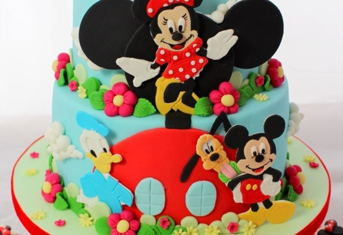 Mickey Mouse Clubhouse And Friends Cake For Arya Cakecentralcom