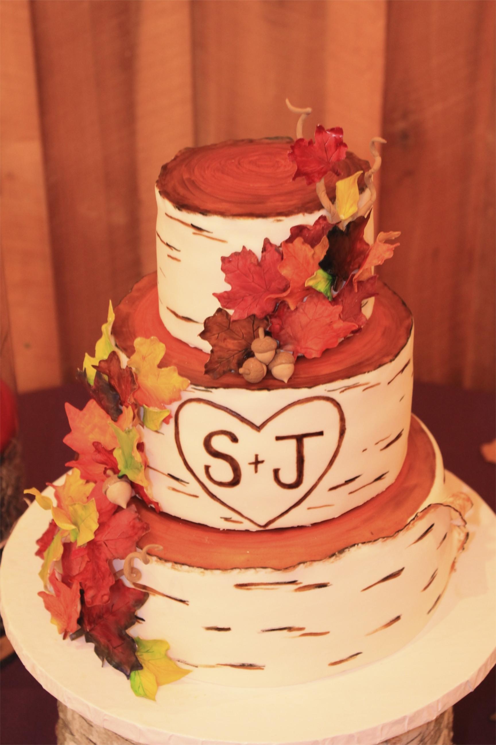 Awesome Autumn Wedding Cakes