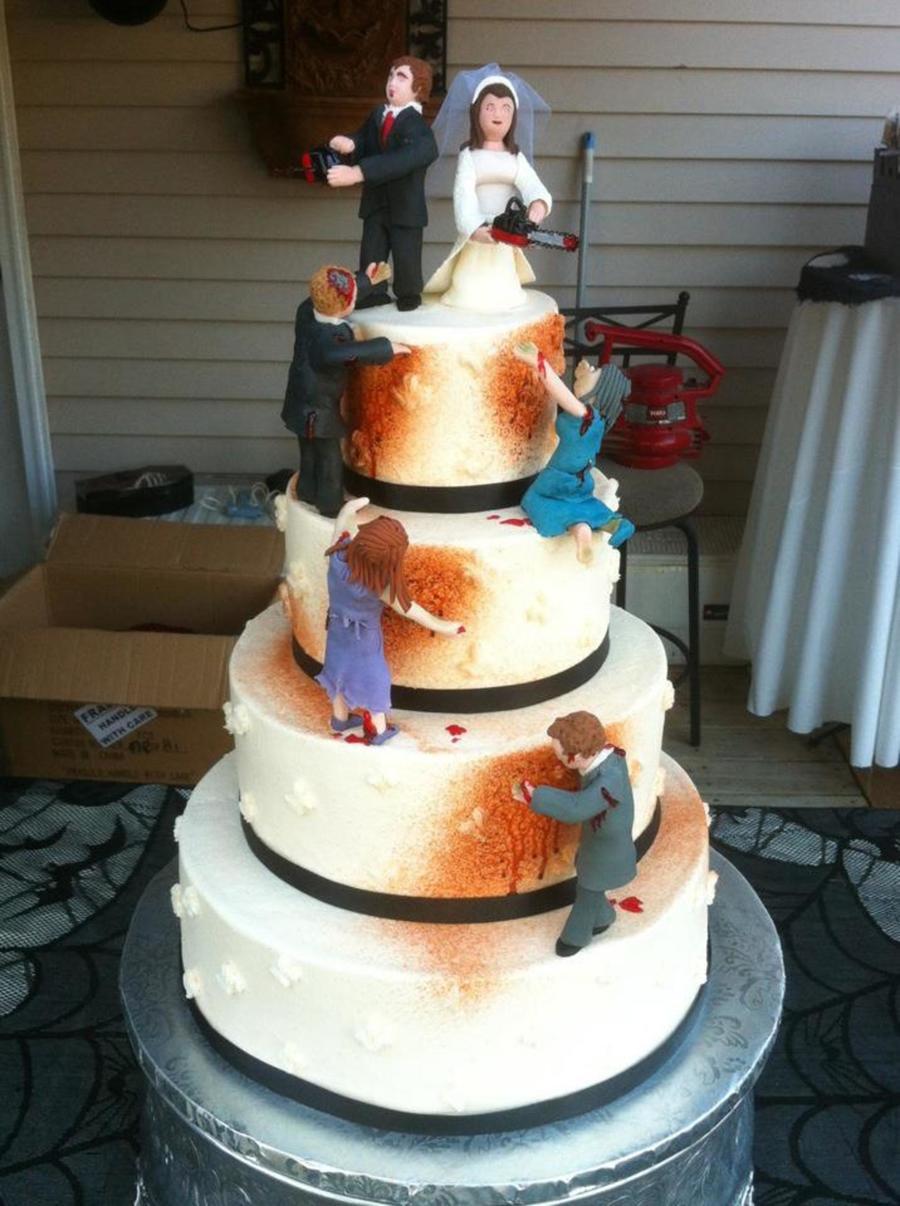 Zombie Wedding Cake Cakecentral Com