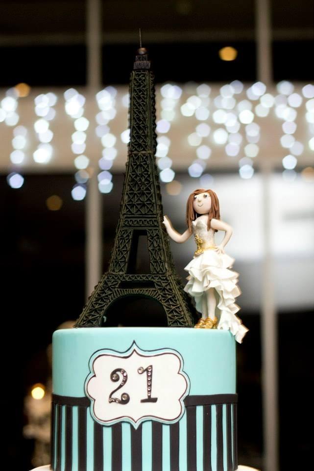 Paris Birthday Cake Cakecentral Com