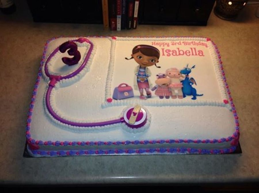Doc Mcstuffins 1st Birthday Party