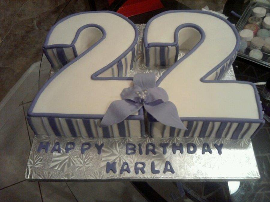 Number 22 Cakecentral Com