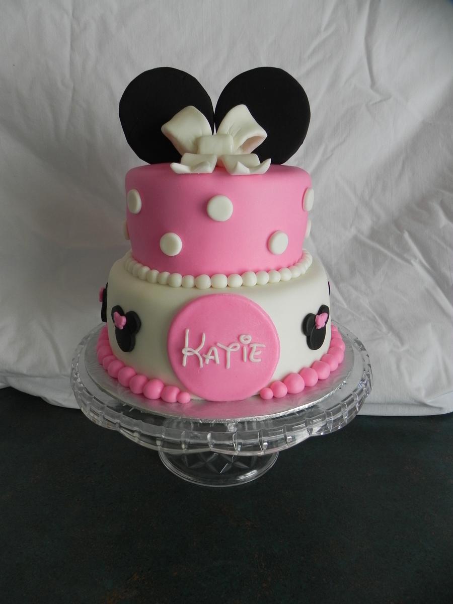 Mini Mouse Cake Cakecentral Com