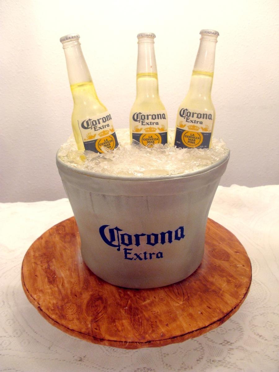 Beer Bucket Cake Cakecentral Com