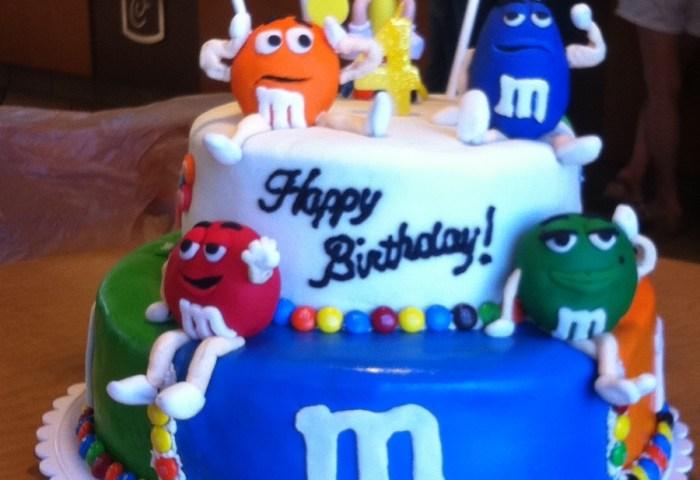 Mm Birthday Cake Cakecentralcom