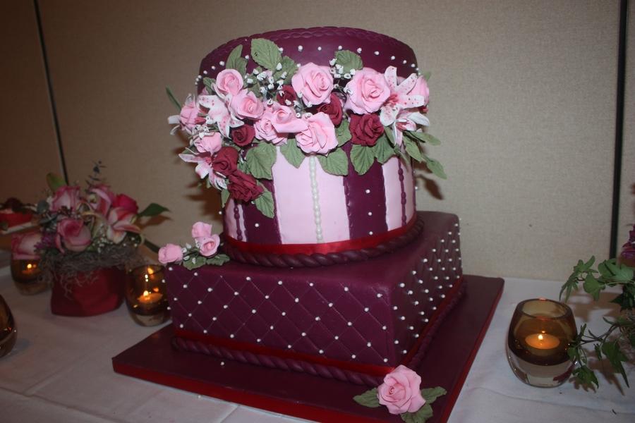65Th Wedding Anniversary Cake