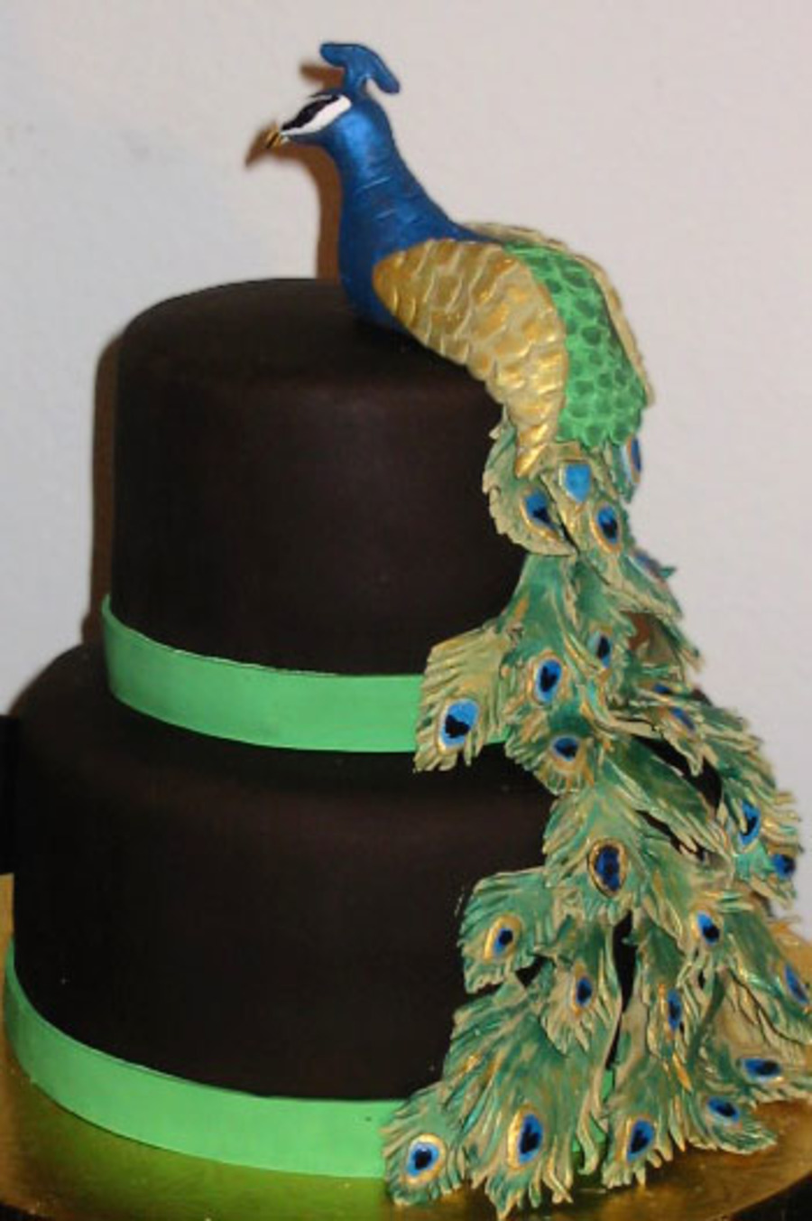 Peacock Cake Cakecentral Com