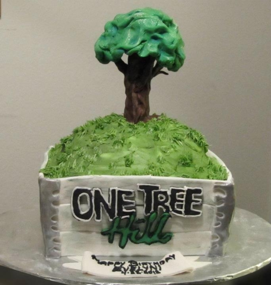 One Tree Hill Cake Cakecentral Com