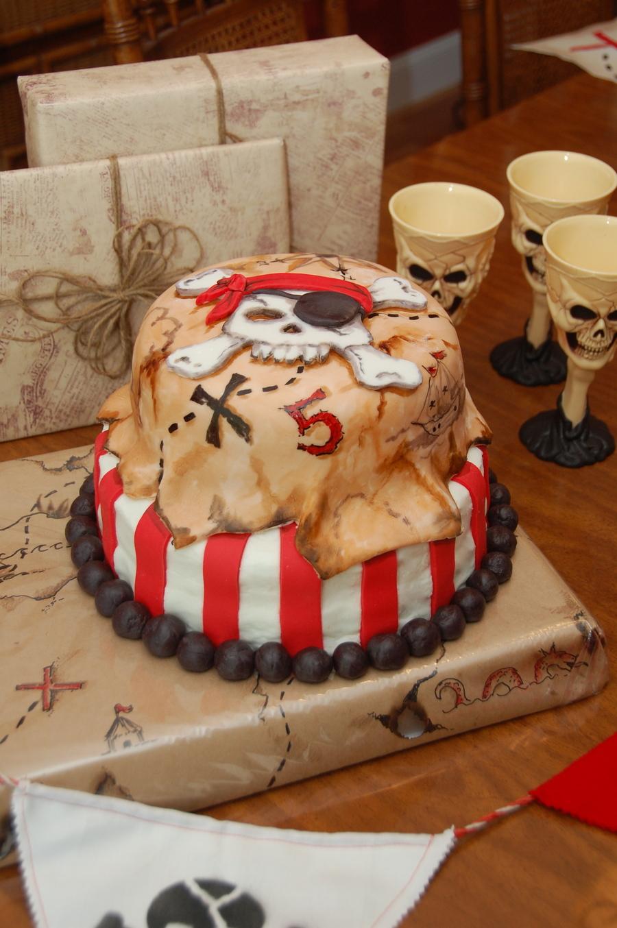 Pirate Cake Cakecentral Com