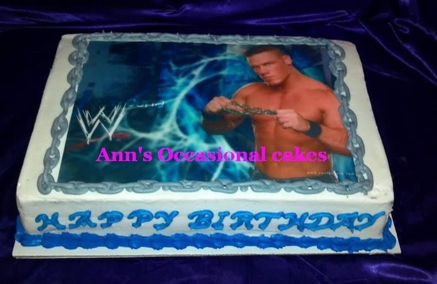 John Cena Birthday Cake Topper The Best Cake Of 2018