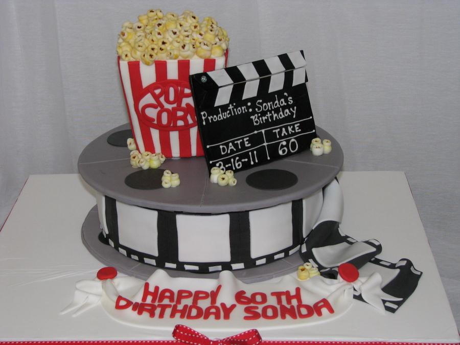 Movie Themed 60th Birthday Cake Cakecentral Com