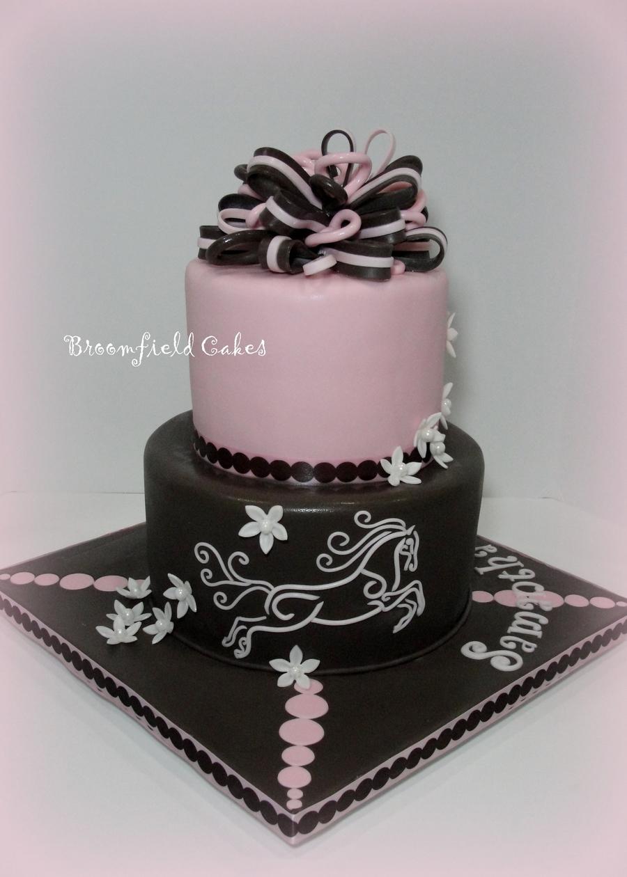 Elegant Horsey Cake Cakecentral Com