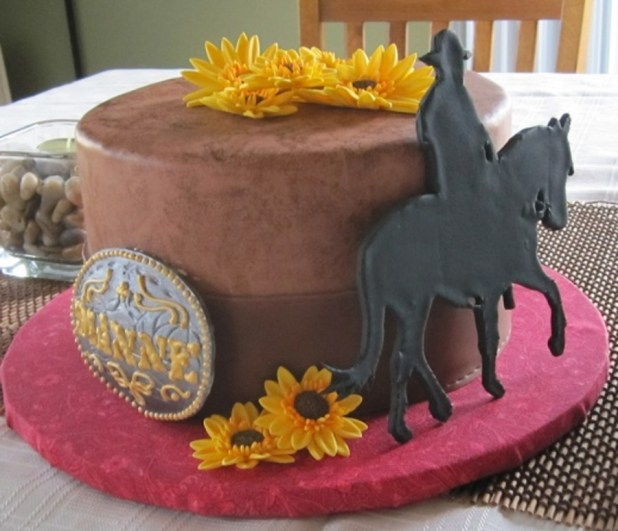 Images Of Western Birthday Cakes Wallsmiga