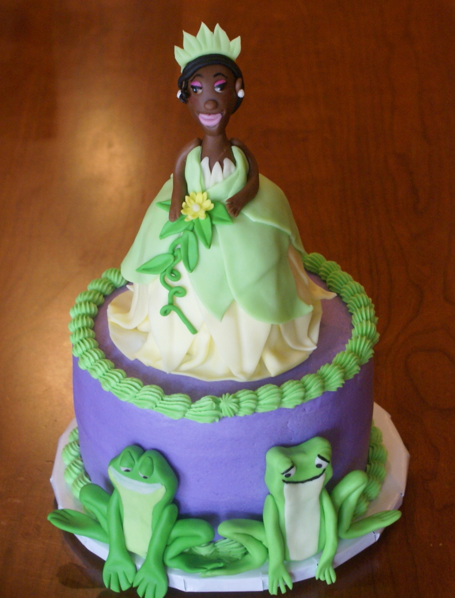 Princess And The Frog Cakecentral Com