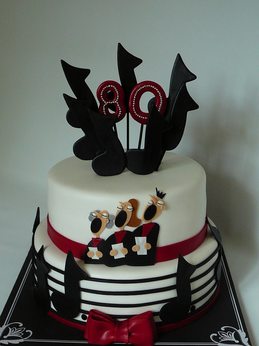 Choral Music Cake Cakecentral Com