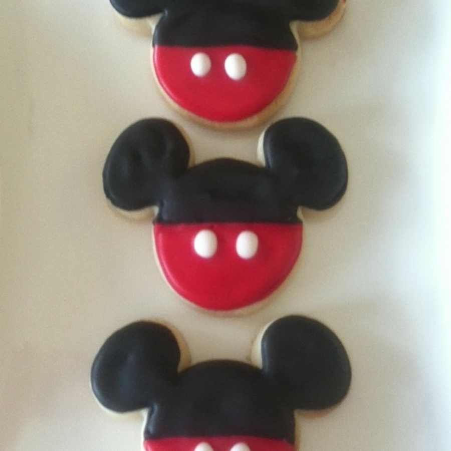 Mickey Mouse Sugar Cookies Cakecentral Com