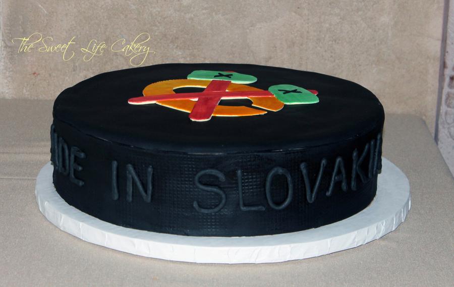 Hockey Grooms Cake