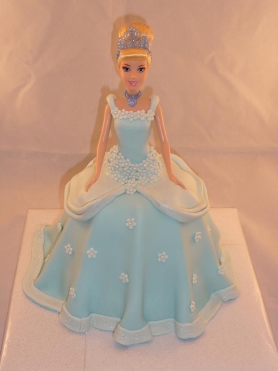 Cinderella Doll Cake Cakecentral Com