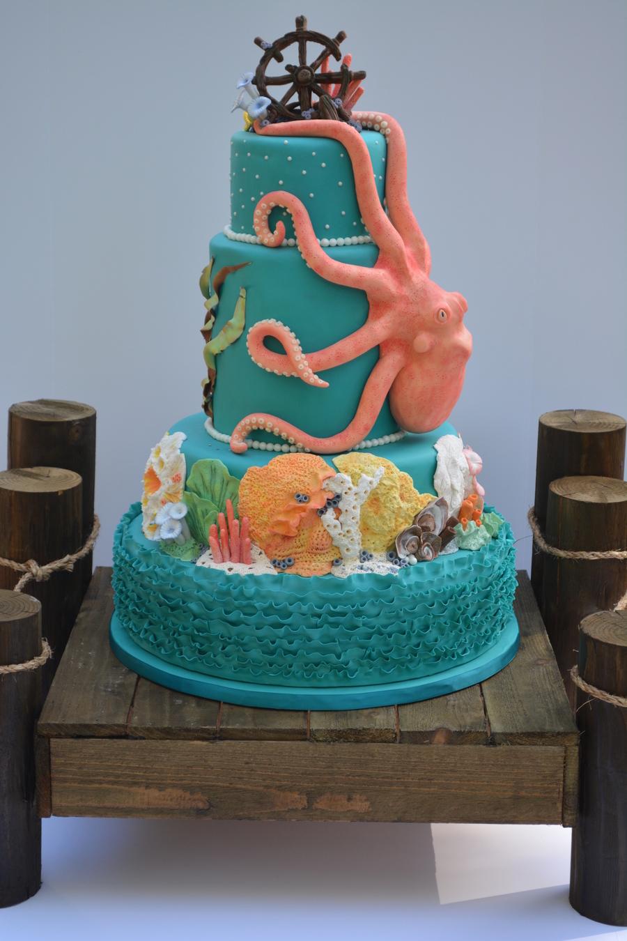 Octopus Cake Cakecentral Com