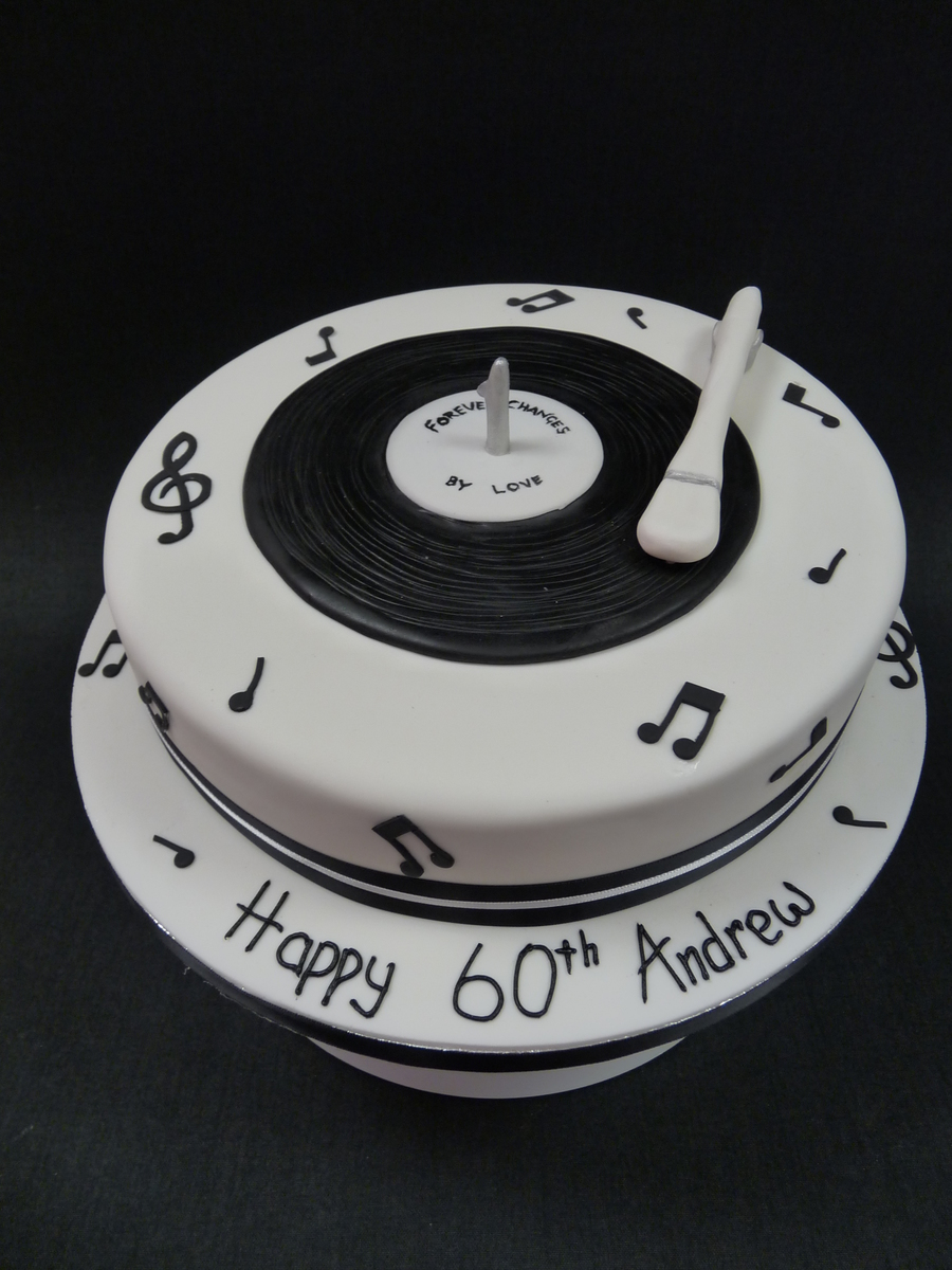 Record Player Birthday Cake Cakecentral Com