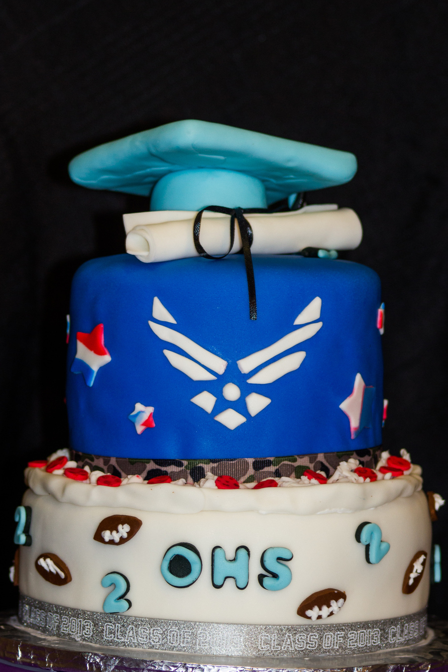 Graduation Cake High School To The Air Force
