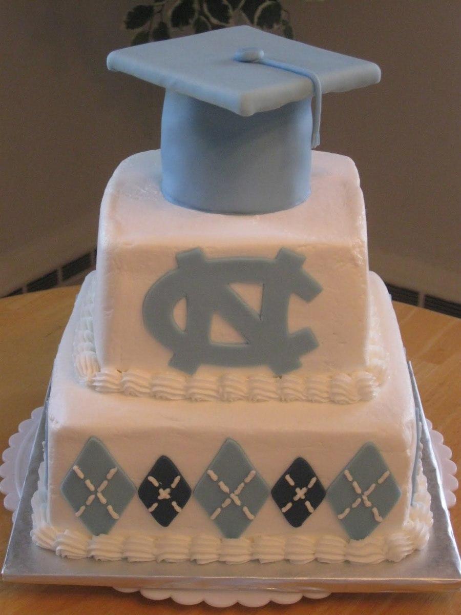 Unc Graduation Cake Cakecentral Com