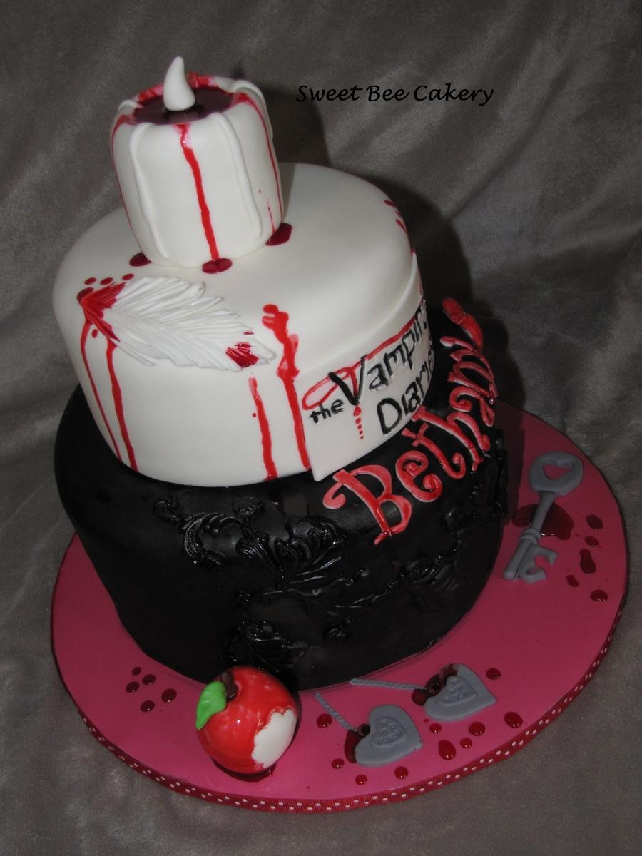 Vampire Diaries Cakecentral Com