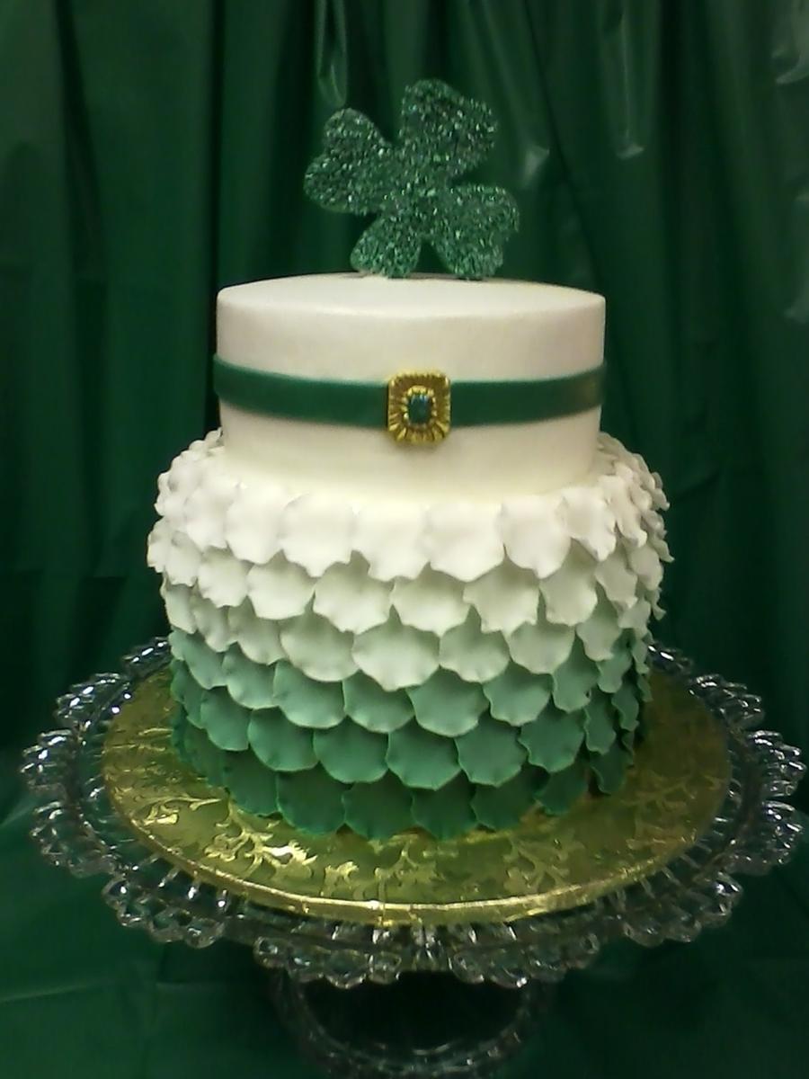 St Patrick S Day Birthday Cakecentral Com